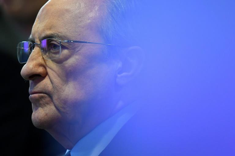 Real Madrid president Florentino Perez is the head of the Super League