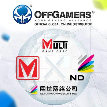 NetDragon Adopts OffGamers' Multi Game Card (MGC) as New Payment Option