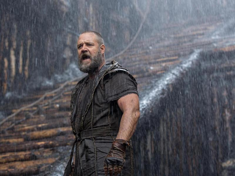 Aronofsky also made 'Noah' starring Russell Crowe with a $125m budget from Paramount (Rex)
