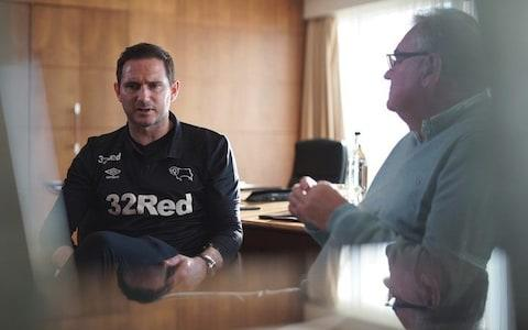 Frank Lampard talks to Michael Calvin on State of Play - Credit: BT Sport