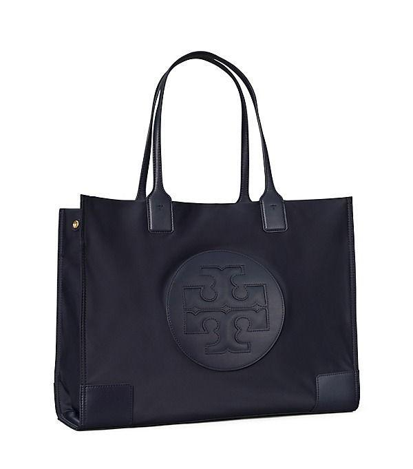 """<p><strong>Tory Burch</strong></p><p>toryburch.com</p><p><a href=""""https://go.redirectingat.com?id=74968X1596630&url=https%3A%2F%2Fwww.toryburch.com%2Fella-tote-bag%2F80479.html&sref=https%3A%2F%2Fwww.townandcountrymag.com%2Fstyle%2Fg37340584%2Fshop-the-best-deals-from-tory-burchs-private-sale%2F"""" rel=""""nofollow noopener"""" target=""""_blank"""" data-ylk=""""slk:Shop Now"""" class=""""link rapid-noclick-resp"""">Shop Now</a></p><p><strong><del>$198</del> $139 (30% off)</strong></p><p>Head back to the office in style with this spacious tote, which can hold a 13-inch laptop.</p>"""