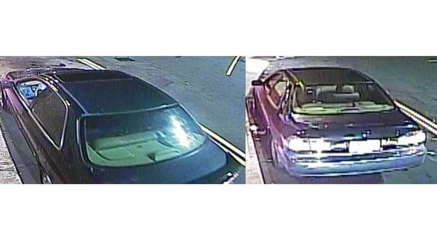 Police are searching for a green Honda after a woman inside told Wendy's employees she had been kidnapped. (Photo: WBTV)
