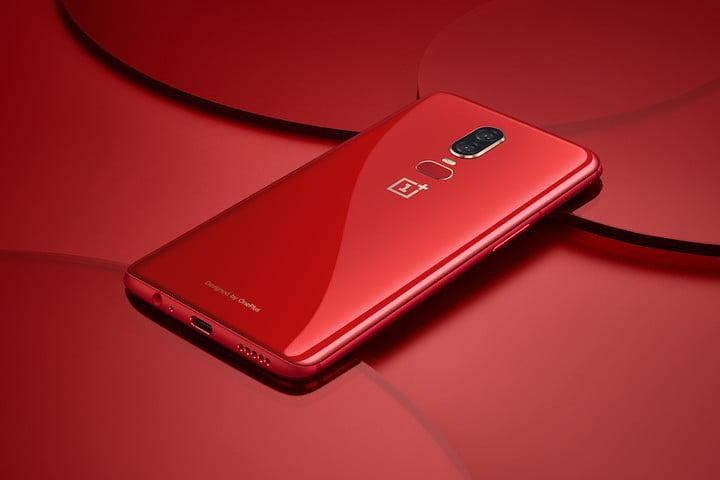 oneplus 6 news red