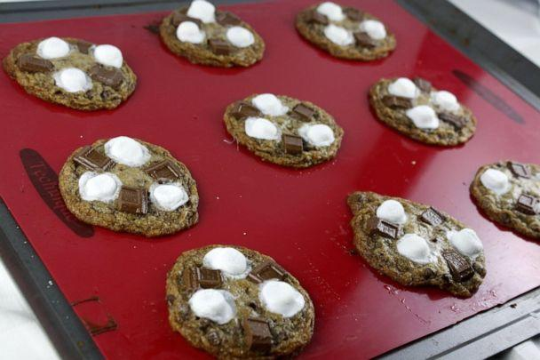 PHOTO: S'more Chocolate Chip Cookies from celebrity caterer Andrea Correale. (Elegant Affairs)