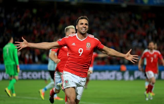 Hal Robson-Kanu scored a memorable goal in Wales' victory over Belgium (Mike Egerton/PA).