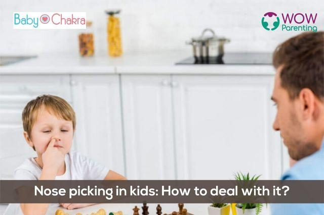 Nose Picking In Kids: How To Deal With It?