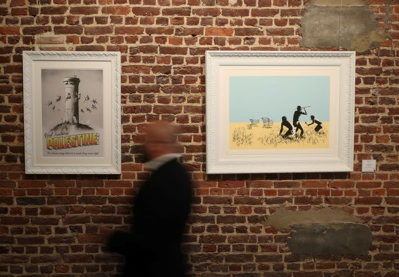 "Banksy ""The Brussels Show"" exhibition in Brussels"