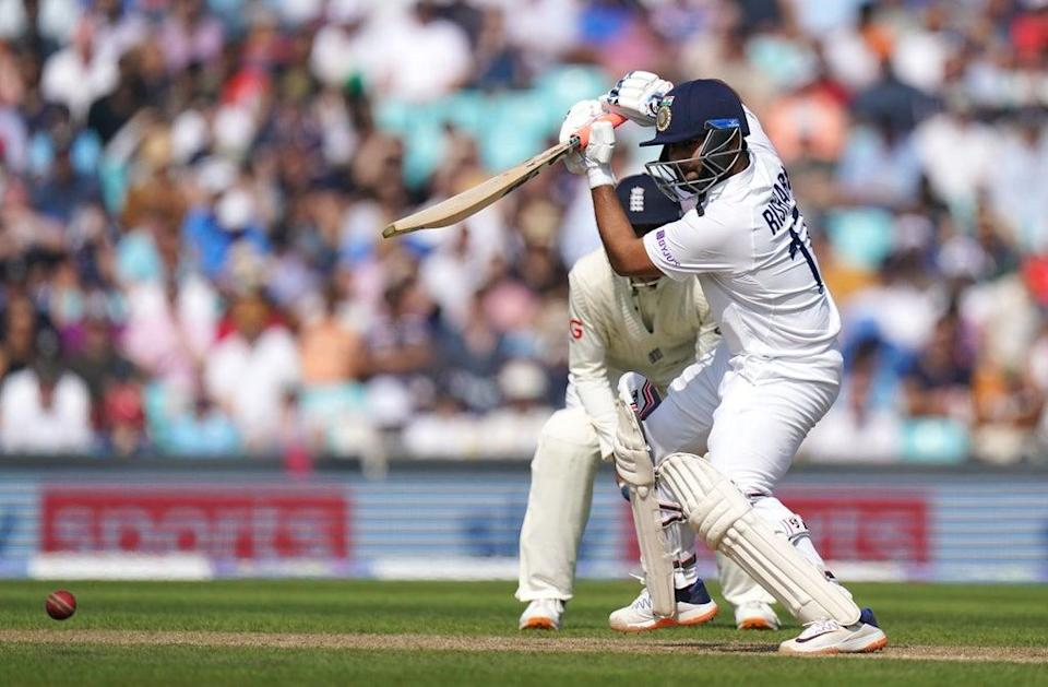 Rishabh Pant scored 50 for India (Adam Davy/PA) (PA Wire)