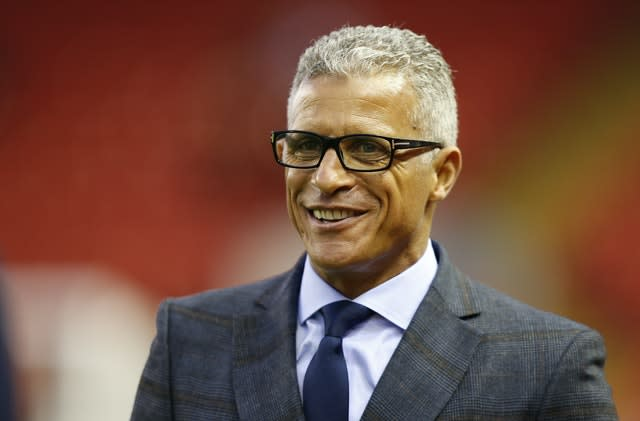 Curle is one of few managers of ethic minority background in the game (Peter Byrne/PA)