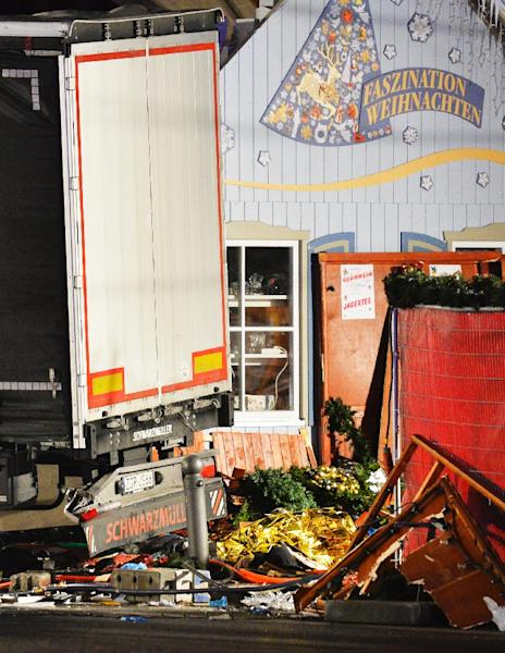 The worst attack in Germany happened in 2016 when a truck crashed into a Christmas market (AFP Photo/Odd ANDERSEN)