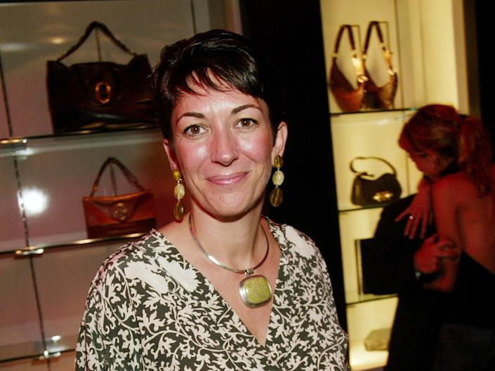 Ghislaine Maxwell has appeared on New York's tax owed list (Getty Images)