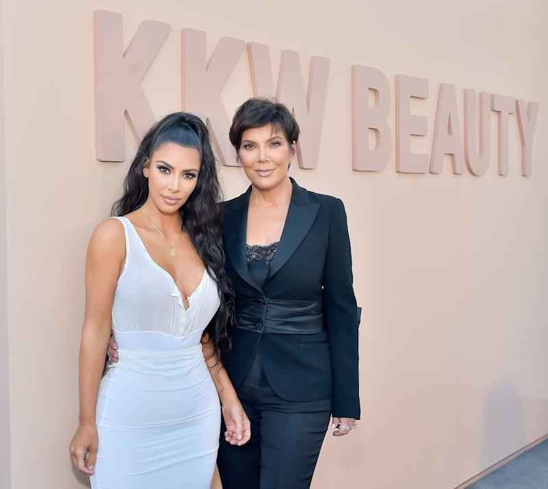 Kim Kardashian West and Kris Jenner are earning big bucks on social media. (Photo: Stefanie Keenan/Getty Images for ABA)
