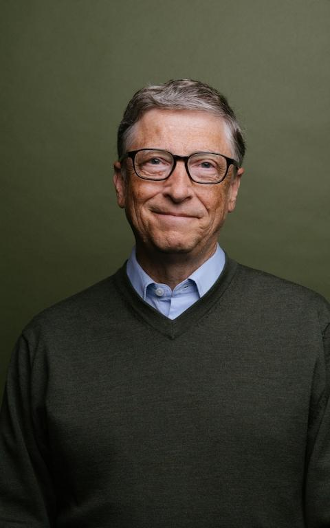 Bill Gates photographed in Seattle - Credit: Daniel Berman