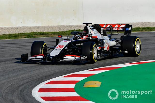 "Kevin Magnussen, Haas VF-20 <span class=""copyright"">Mark Sutton / Motorsport Images</span>"