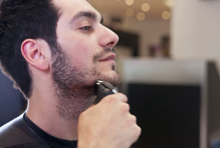Men's shaving products also took a hit because of the growth of beards (Picture: Rex)