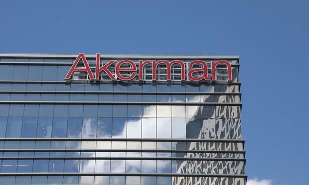 Akerman's 7-Year Growth Record Stays Alive as Revenue Rises