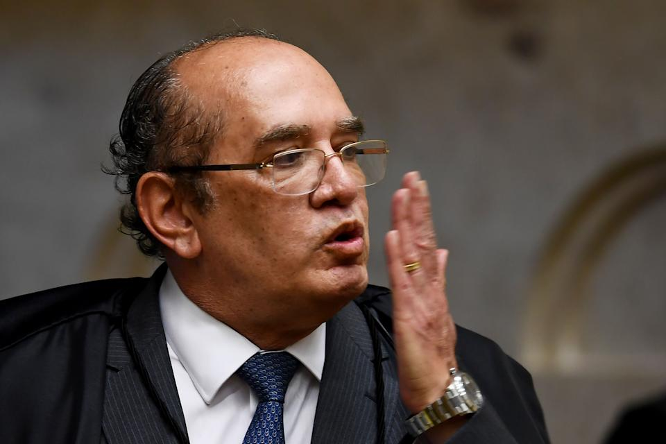 O ministro do STF Gilmar Mendes. Foto: Evaristo Sá /AFP (via Getty Images)