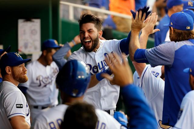 The Kansas City Royals are in the middle of a four-game winning streak. (Getty Images)