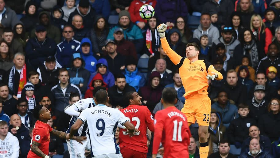 <p>Liverpool goalkeeper Simon Mignolet put in a brilliant performance in a 1-0 win over West Brom at the Hawthorns on Saturday, making a number of top-quality saves to keep an all-important clean sheet.</p> <br /><p>The Belgian shot-stopper looked as though his time was up at Anfield earlier this season after being dropped for summer-signing Loris Karius, but he has clawed his way back into Jurgen Klopp's plans with consistent displays in the Liverpool goal.</p> <br /><p>While many are suggesting that Klopp will look to the summer transfer window to bolster his goalkeeping options, with a potential move for Man City's Joe Hart on the cards, Mignolet's inspired form could force him to think again and show trust in his current options.</p>