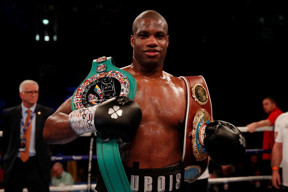 Dubois is looking to force his way into world title contention this year: Action Images via Reuters
