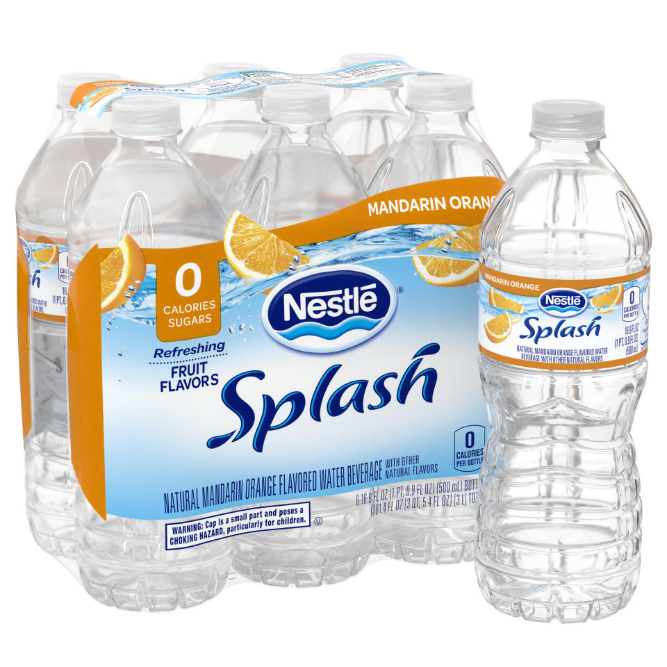Nestle Splash Zero Calorie - Zero Sugar flavored water