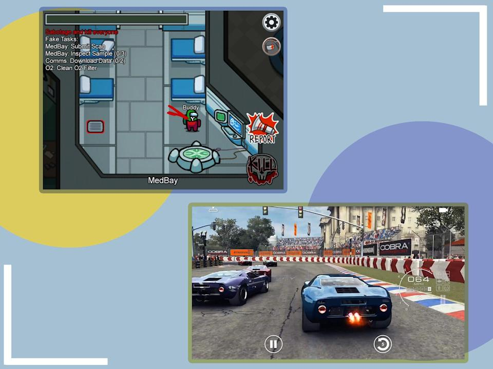 <p>These are the perfect games for small-screen sessions</p> (The Independent)