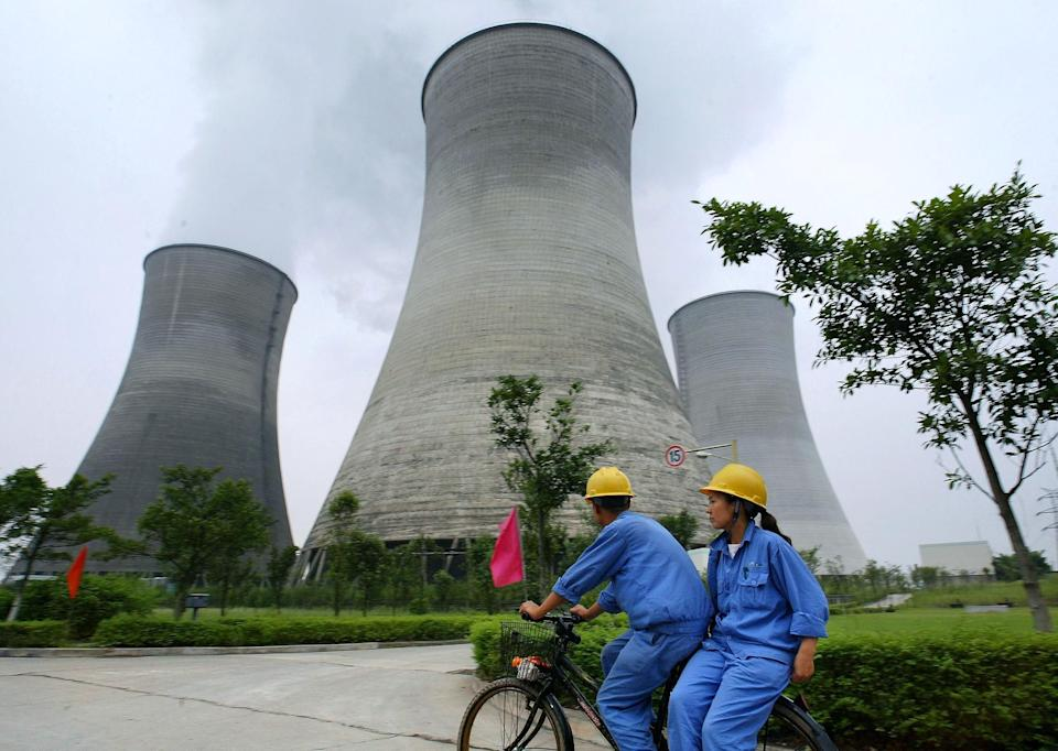Central nuclear china. (Photo: FREDERIC J. BROWN via AFP via Getty Images)