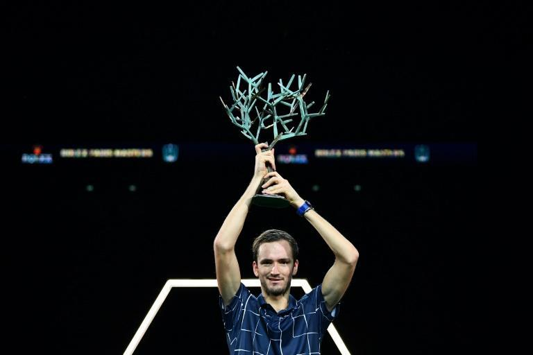 Medvedev won his third Masters title