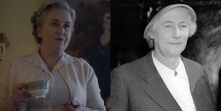 <p>Played by Sylvestra Le Touzel, Lady Dorothy Cavendish wed Harold Macmillan in 1920 after meeting him through her father's work. The couple had four children together and were married for 46 years (until her death in 1966), despite her ongoing affair with Robert Boothby, which is referenced in season 2. </p>