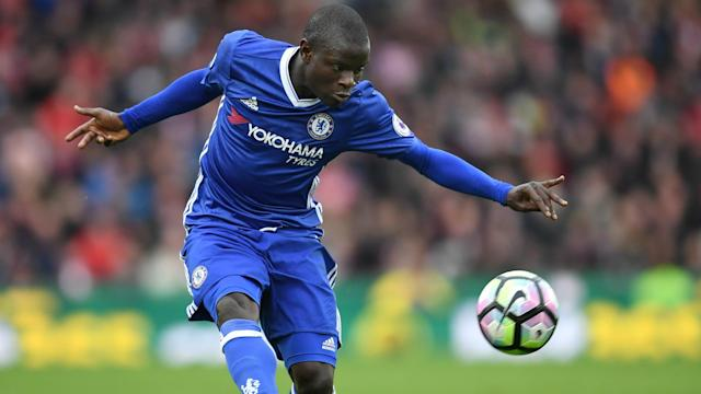 He might be a favourite for the PFA Player of the Year award, but N'Golo Kante has taken a more modest view of his form for Chelsea.