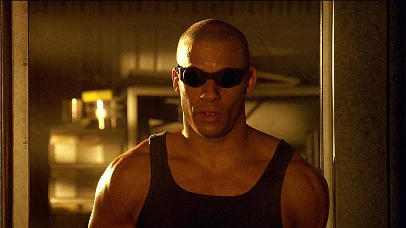 Vin Diesel in 'Pitch Black'. (Credit: Arrow Video)