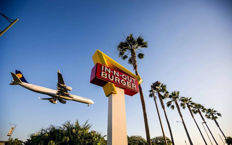 Los Angeles' In-n-Out Burger offers prime burgers in a prime spot - Anna Bryukhanova
