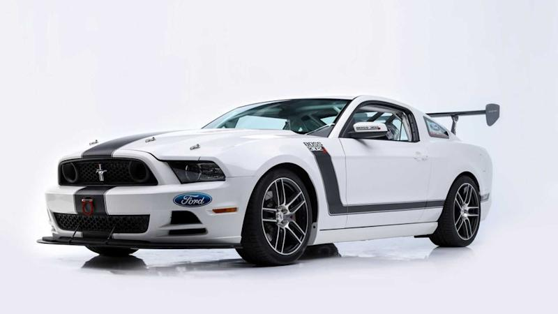 Place Your Bid On Paul Walker's 2013 Boss 302S Ford Mustang