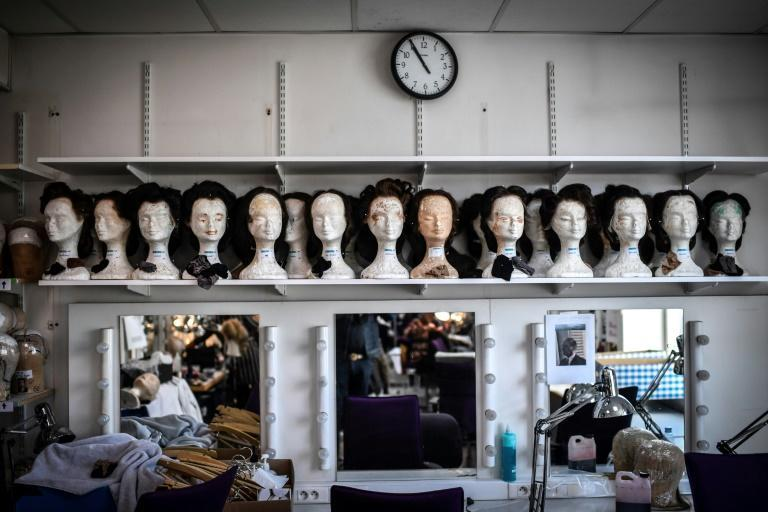 Students learn the intricacies of wig making and how to distinguish styles from 1830 and 1850
