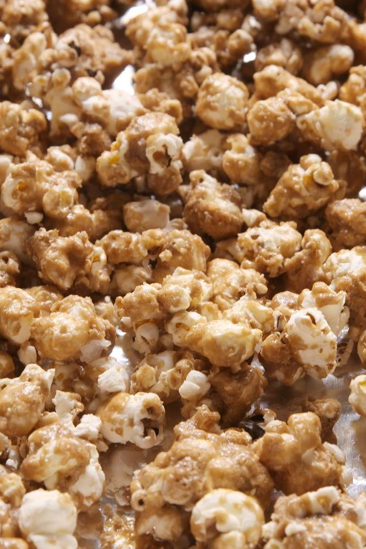 "<p>Flaky sea salt is key to the best-ever caramel corn.</p><p>Get the <a href=""http://www.delish.com/uk/cooking/recipes/a28830414/salted-caramel-popcorn-recipe/"" rel=""nofollow noopener"" target=""_blank"" data-ylk=""slk:Salted Caramel Popcorn"" class=""link rapid-noclick-resp"">Salted Caramel Popcorn</a> recipe.</p>"