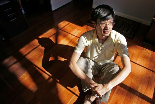 the Tao of Tao: UCLA Mathematician Terence (cq) Tao in his home Monday in Los Angeles September 18, 2006. He has had a busy year, winning both the prestigious Field Medal for Mathematics and, today, being awarded a MacArthur Genius grant for a half a million dollars, no strings attached.  (Photo by Richard Hartog/Los Angeles Times via Getty Images) (Photo: Richard Hartog via Getty Images)
