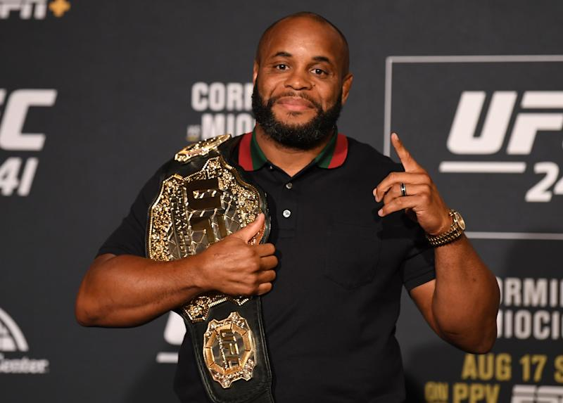 Daniel Cormier's stepfather, Percy Benoit, died Saturday after a battle with cancer.