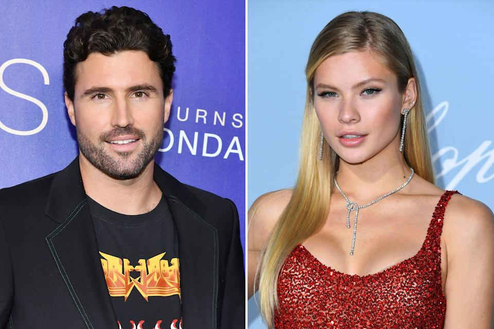 "Nearly two weeks after announcing his <a href=""https://people.com/tv/brody-jenner-kaitlynn-carter-split/"" rel=""nofollow noopener"" target=""_blank"" data-ylk=""slk:split from Kaitlynn Carter"" class=""link rapid-noclick-resp"">split from Kaitlynn Carter</a>, Jenner has moved on with 22-year-old model Canseco. The two met in N.Y.C. through <a href=""https://people.com/tag/the-hills/"" rel=""nofollow noopener"" target=""_blank"" data-ylk=""slk:The Hills: New Beginnings"" class=""link rapid-noclick-resp""><em>The Hills: New Beginnings</em></a> costar Frankie Delgado, a source confirmed to <a href=""https://people.com/tv/brody-jenner-is-dating-josie-canseco-after-kaitlynn-carter-linked-miley-cyrus/"" rel=""nofollow noopener"" target=""_blank"" data-ylk=""slk:PEOPLE"" class=""link rapid-noclick-resp"">PEOPLE</a> on August 13. Jenner's new relationship status has been made official after the reality star's ex Carter was <a href=""https://people.com/?tout=miley-cyrus-seen-kissing-brody-jenners-ex-kaitlynn-carter-after-liam-hemsworth-split-theyre-having-fun-source-says"" rel=""nofollow noopener"" target=""_blank"" data-ylk=""slk:seen kissing Miley Cyrus"" class=""link rapid-noclick-resp"">seen kissing Miley Cyrus</a>, who recently <a href=""https://people.com/music/miley-cyrus-liam-hemsworth-split/"" rel=""nofollow noopener"" target=""_blank"" data-ylk=""slk:split from Liam Hemsworth"" class=""link rapid-noclick-resp"">split from Liam Hemsworth</a> after less than a year of marriage. Canseco is the daughter of retired Major League Baseball player Jose Canseco. She made her modeling debut at the 2018 Victoria Secret fashion show."