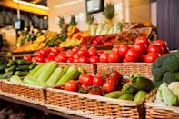 """When it comes to Walmart's produce section, you get what you pay for. According to one <a rel=""""nofollow noopener"""" href=""""https://www.consumerreports.org/fruits-vegetables/grocery-stores-with-the-best-produce/"""" target=""""_blank"""" data-ylk=""""slk:Consumer Reports"""" class=""""link rapid-noclick-resp"""">Consumer Reports</a> survey of tens of thousands of customers, Walmart's supermarket is one of the worst out there in both the quality and quantity of produce offered."""