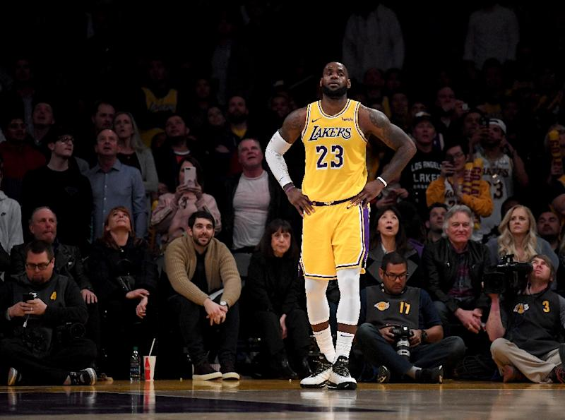70893c2726a6 LeBron James could miss the playoffs for the first time since 2005 as the  Los Angeles