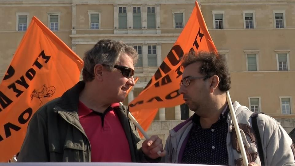 Greek public-sector workers have gone on strike to protest at labour and pension reforms and state asset sales which the government agreed with the country's official creditors in exchange for loans.  As Sonia Legg reports, Athens is also at odds with its lenders over some reforms.