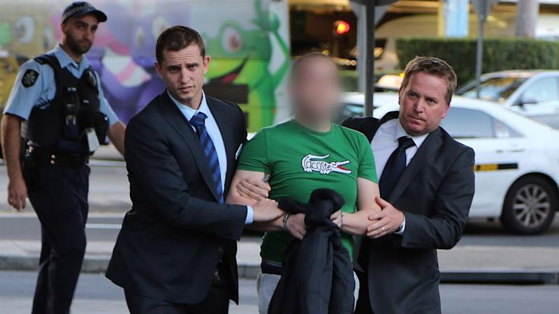 A tip-off helped police locate McGovern before he was extradited back to NSW. Photo: NSW police