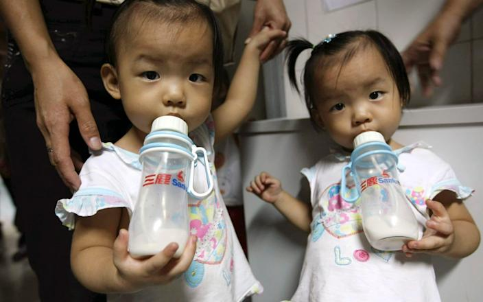 China scrapped its decades-old one-child policy with a two-child limit in 2016 - AP