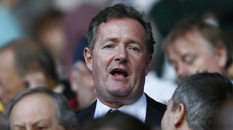 Piers Morgan Bragged About How Manly He Is. It Didn't Go Well.