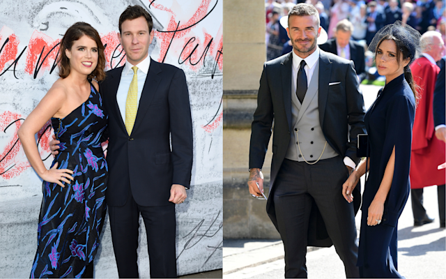 Princess Eugenie and Jack Brooksbank have reportedly hired the Beckham's party planner [Photo: Getty]