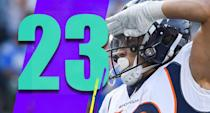 <p>Somehow, the Broncos aren't out of the playoff race. They're just a game behind a glut of teams that are 5-5 for the final wild-card spot. The wild-card races might be really crazy this season. (Phillip Lindsay) </p>