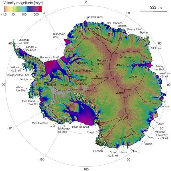 Quakes Beneath Antarctic Glacier Linked to Ocean Tides