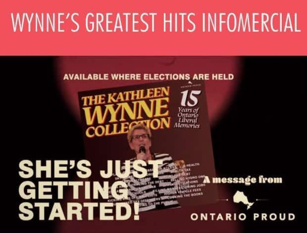 An online ad promoting an Ontario Proud TV commercial. Non-party groups like Ontario Proud spent $5 million on campaign-related activities in the run-up to the 2018 election.