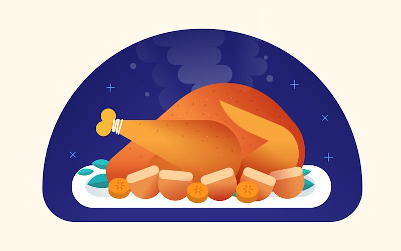 The perfect roast turkey is planned well in advance - Tom McGuinness/The Telegraph