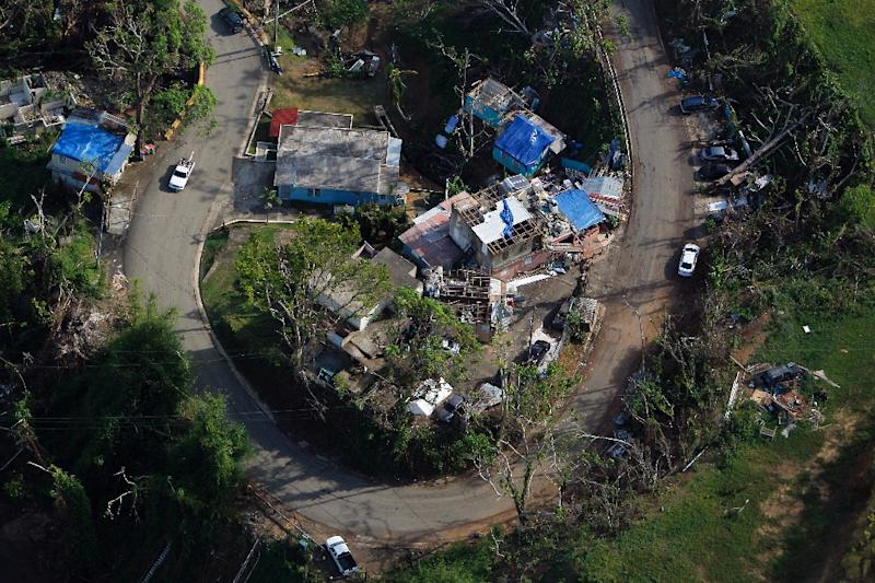 The situation in Puerto Rico is still precarious, with around 75 percent of the population without electricity and clean water scarce in many areas